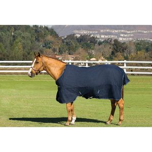 Amigo Bravo 12 Semi lite Weight Turnout Blanket Nvy/nvy/elctrc Blue 84