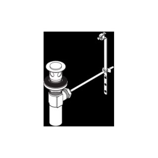 Delta Faucet RP26533PN Universal Metal Sink Drain Assembly Less Lift Rod & Knob