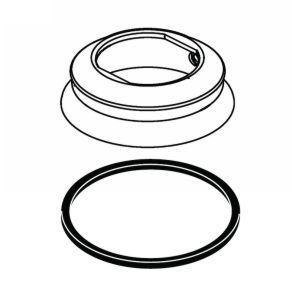 Delta Faucet RP72718PN Cassidy Spout Base and Gasket