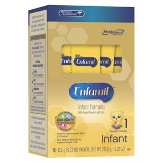 Enfamil PREMIUM Infant Formula Powder Single Serve   96 Count