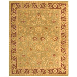 Safavieh Anatolia Light Green/Red Rug AN548A Rug Size 3 x 5