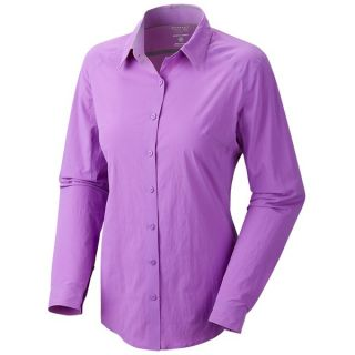 Mountain Hardwear Coralake Supreme Shirt   UPF 25  Long Sleeve (For Women)   COOL WAVE (12 )