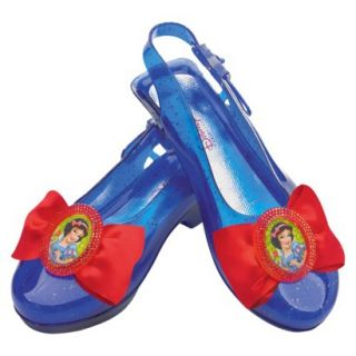 Girls Disney Snow White Sparkle Shoes   One Size Fits Most