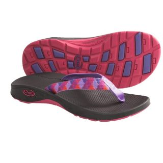 Chaco Bit O Flip Ecotread Sandals   Flip Flops (For Kids and Youth)   BLACK (1 )