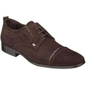 Bacco Bucci Mens Ferraro Brown Shoes   2252 46 200