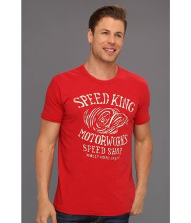 Lucky Brand Speed King Moto Mens T Shirt (Beige)