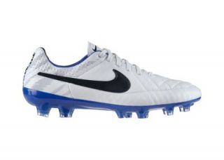 Nike Tiempo Legend V Reflective Mens Firm Ground Soccer Cleats   White