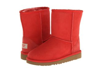 UGG Kids Classic Girls Shoes (Red)
