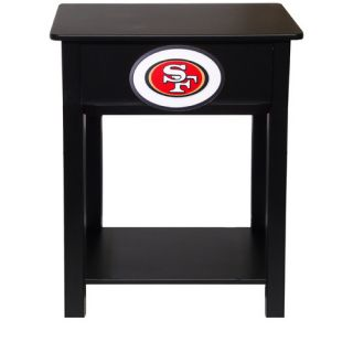 Fan Creations NFL End Table N0533  NFL Team San Francisco 49ers