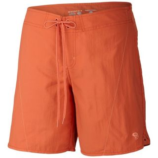 Mountain Hardwear Ramesa Crossing Shorts   UPF 50 (For Women)   RED CANYON (6 )