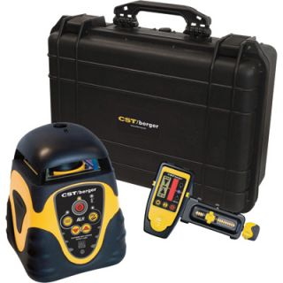 CST/Berger Self Leveling Horizontal Rotary Laser Level Complete Package, Model#