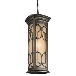Kichler 49231OZ Outdoor Light, Classic (Formal Traditional) Pendant 1 Light Fixture Olde Bronze