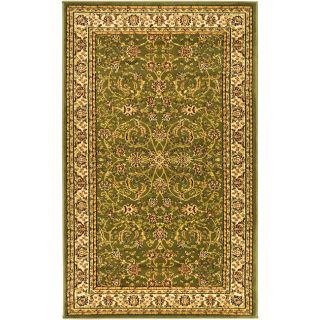 Lyndhurst Collection Sage/ivory Polypropylene Rug (33 X 53)