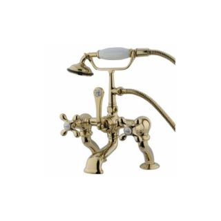Elements of Design DT4092AX St. Louis Clawfoot Tub Filler With Hand Shower