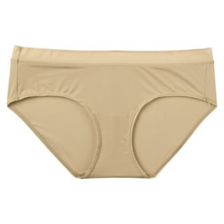 JKY By Jockey Womens Nylon Stretch Hipster   Toasted Beige 7
