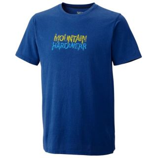 Mountain Hardwear Shattering T Shirt   Short Sleeve (For Men)   KELLY (XL )