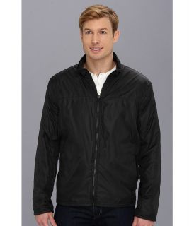 Kenneth Cole Reaction Reversible Fleece Jacket Mens Coat (Black)