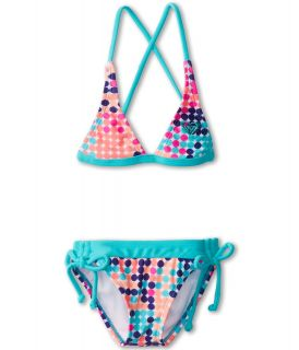 Roxy Kids Beautiful Dreamer Halter Set Girls Swimwear Sets (Multi)