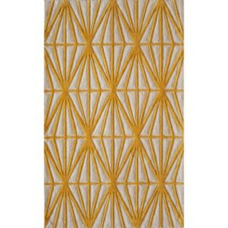 Circuit Area Rug   Gold (5x76)
