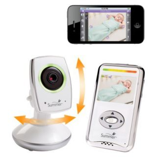 Summer Infant Baby Zoom Wi Fi 2.5 Color Video Baby Monitor