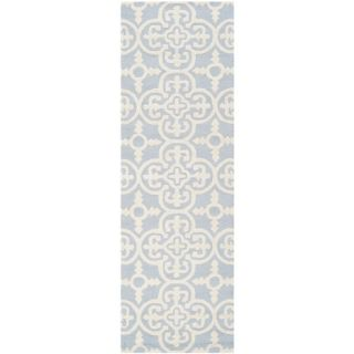 Safavieh Cambridge Light Blue / Ivory Rug CAM133A 2 / CAM133A 24 Rug Size Ru