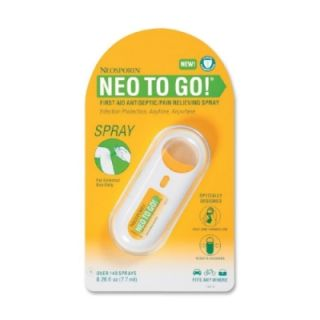 Neosporin NEO TO GO First Aid Antiseptic/Pain Relieving Spray