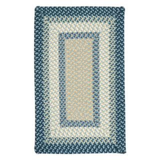 Colonial Mills Montego Indoor/Outdoor Area Rug   Blue Burst   MG59R024X036R