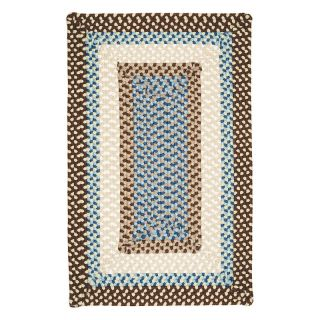 Colonial Mills Montego Indoor/Outdoor Area Rug   Bright Brown   MG89R024X036R