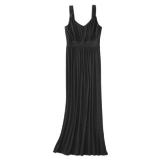 Merona Petites Sleeveless Maxi Dress   Black MP