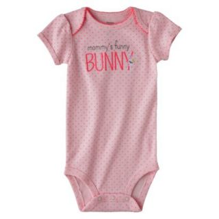 Just One YouMade by Carters Newborn Girls Buddy Bodysuit   Pink 9 M