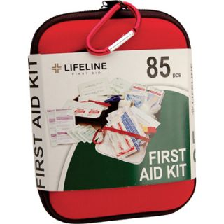 Lifeline Large First Aid Kit   85 Pcs., Model# 4408