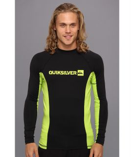 Quiksilver Prime L/S Surf Shirt Mens Swimwear (Black)