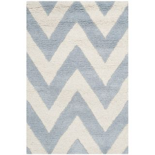 Safavieh Cambridge Light Blue / Ivory Rug CAM139A  Rug Size 2 x 3