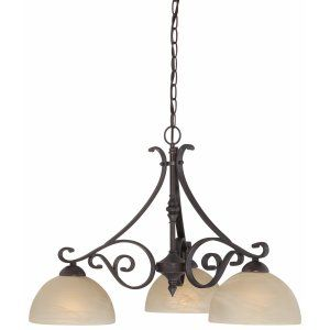 Thomas Lighting THO 190048722 Melody Chandelier Sable Bronze 3x100W