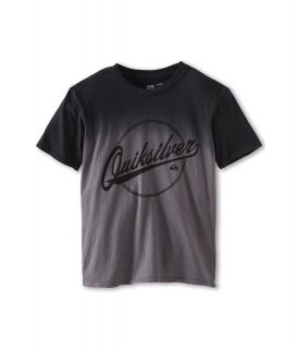 Quiksilver Kids Hooked Tee Boys Short Sleeve Pullover (Black)