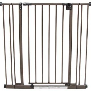 Extra Tall Easy Close Pet Gate in Bronze