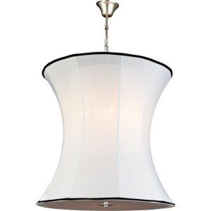 PLC Lighting PLC 73030 WHITE Cooper 4 Light Pendant Cooper Collection 73030