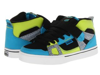 etnies Kids Decade Boys Shoes (Black)