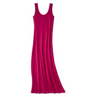 Merona Petites Sleeveless Maxi Dress   Red XLP