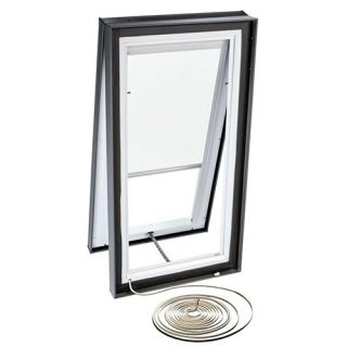Velux RMC 4646 1028 Skylight Blind, Electric Powered Light Filtering for Velux VCE 4646 Models White