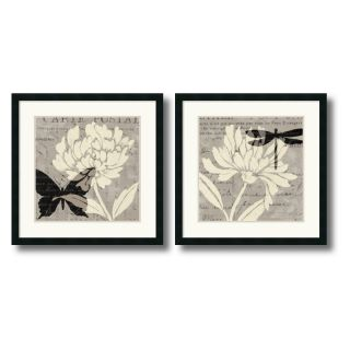 J and S Framing LLC Natural Prints Framed Wall Art   Set of 2   26W x 26H inch