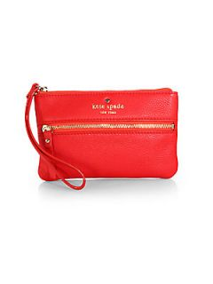 Kate Spade New York Cobble Hill Bee Wristlet   Red