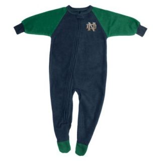 NCAA Male Notre Dame Footed   Team Color (M)
