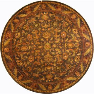 Safavieh Antiquities Majesty Charcoal Rug AT52K Rug Size Round 8
