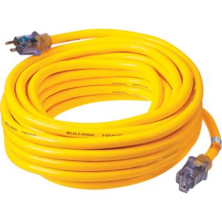 Prime Wire & Cable Bulldog Tough Outdoor Extension Cord   50ft., Model# LT511930