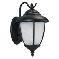 Sea Gull Lighting SEA 89250BLE 12 Yorktowne One Light Outdoor Wall Fixture Black