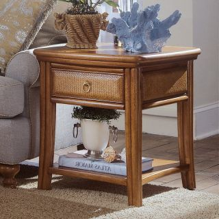 American Drew Antigua Rectangular End Table Multicolor   931 915