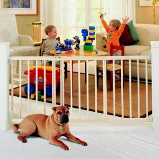 Wide Stairway Swing Pet Gate