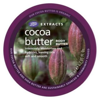 Boots Extracts Cocoa Butter Body Butter   6.7 oz