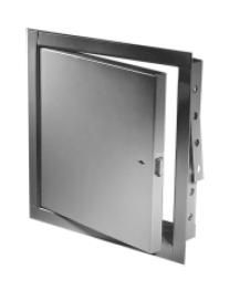 Acudor FB5060 18 x 18 RCSS NonInsulated Fire Rated Stainless Steel Access Panel 18 x 18 with Rim Cylinder Lock